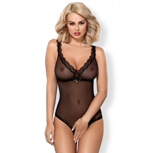 Obsessive 839-TED-1 crotchless teddy