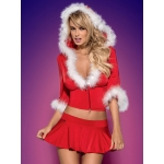 Obsessive SANTA LADY skirty set