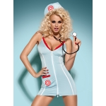 Obsessive DOCTOR DRESS with stethoscope