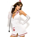 Obsessive EMERGENCY DRESS with stethoscope